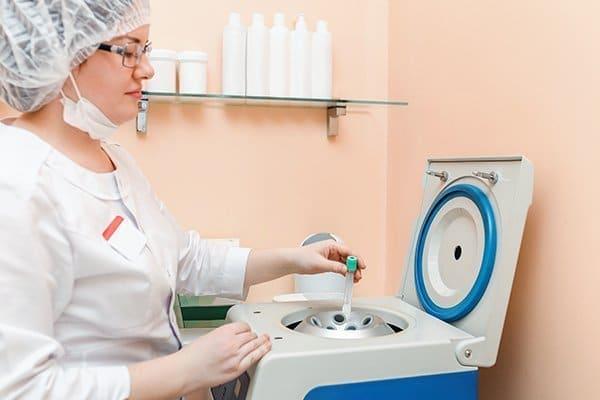 platelet rich plasma centrifugation protocol